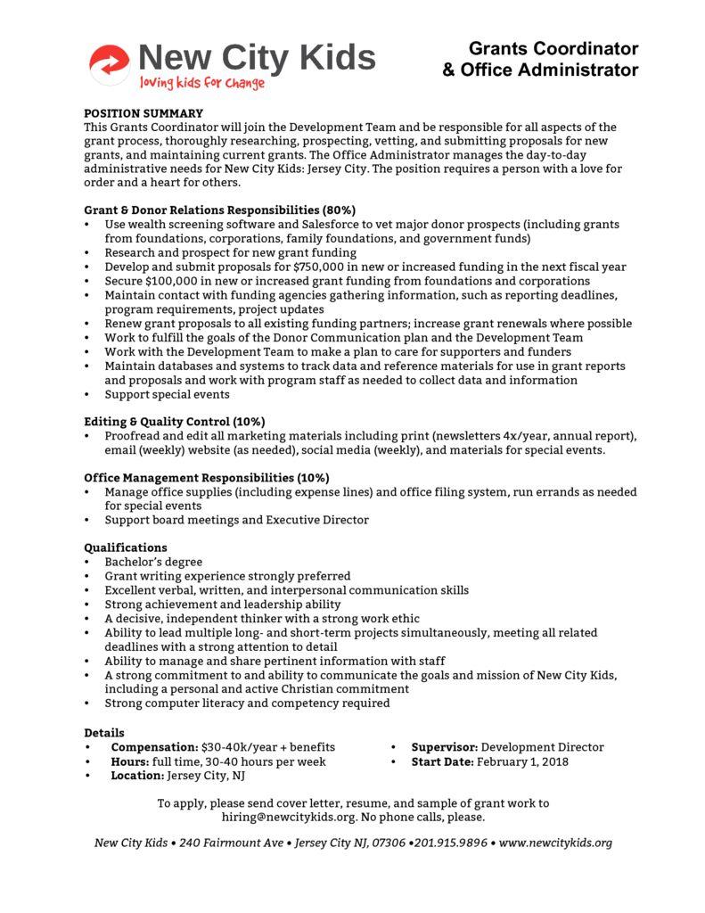 Grants Coordinator 2017 18 (2)