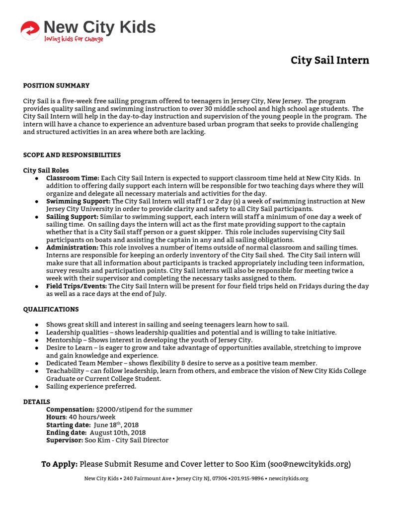 thumbnail of City Sail Intern Job Description.doc (1)