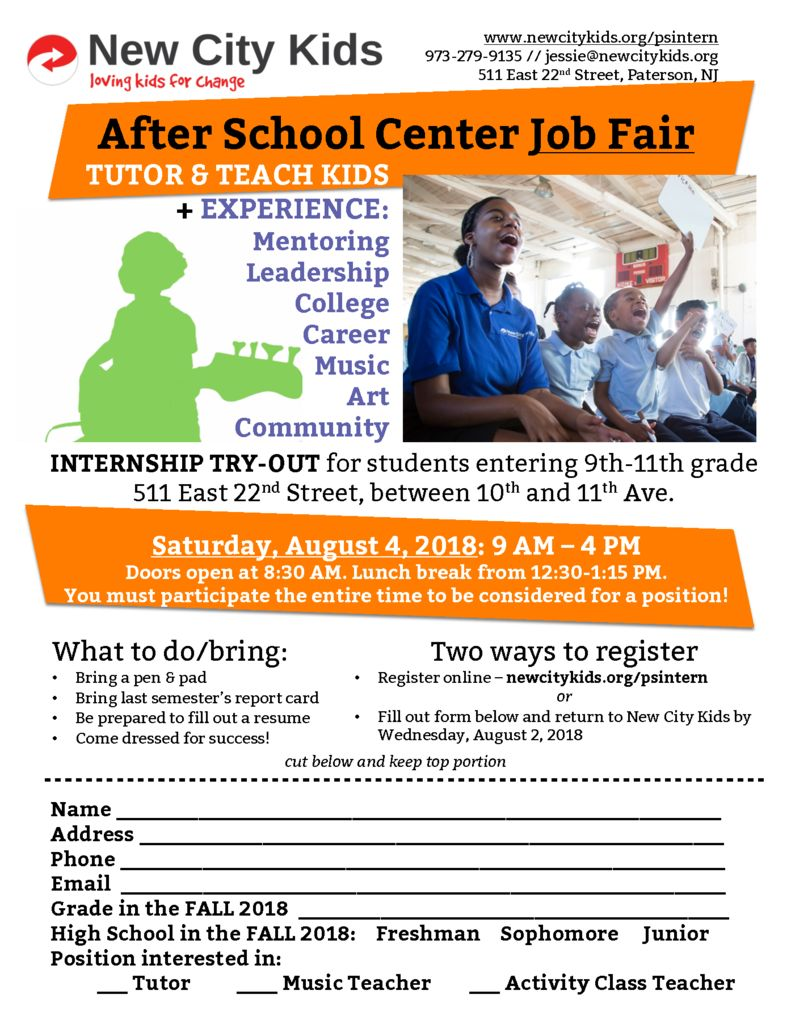 thumbnail of August Job fair 2018 flyer and registration